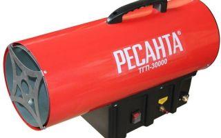 Устройство и критерии выбора тепловой газовой пушки
