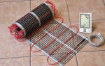 Электрический теплый пол под плитку: какой лучше — инфракрасный или кабельный