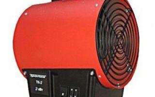 Виды тепловых пушек: классификация по излучению и энергоносителям