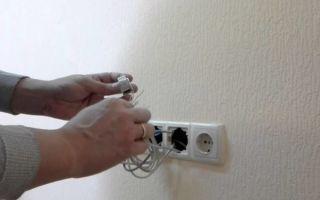 Как подключить интернет розетку: схемы установки, инструкция