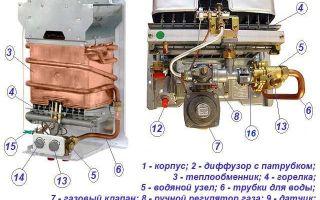 Ремонт газовых колонок «вектор люкс» своими руками: обзор типовых поломок и их способов их устранения