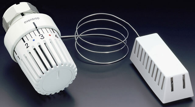 Термоголовка для радиатора отопления: виды, принцип работы + правила установки
