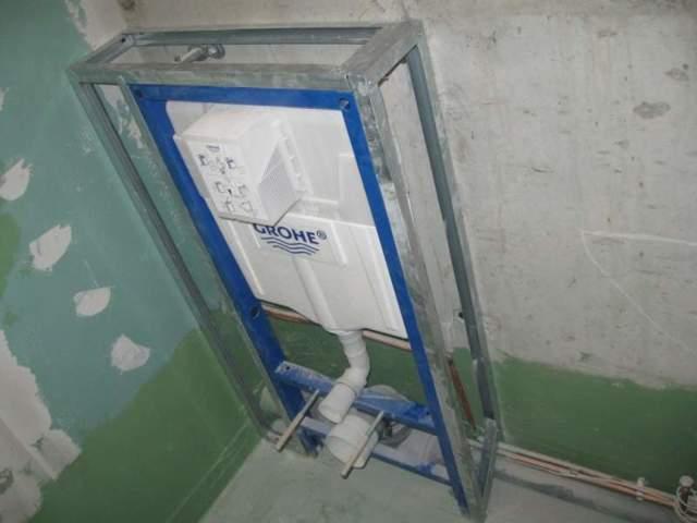 Подвесной унитаз с инсталляцией: плюсы и минусы, рекомендации по выбору + правила установки