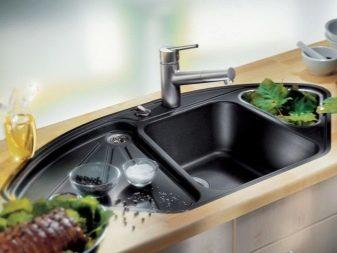 Керамическая мойка для кухни: виды, обзор производителей + на что смотреть при выборе