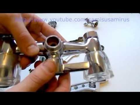 Устройство и ремонт смесителя для ванной: наиболее частые поломки и способы их устранения