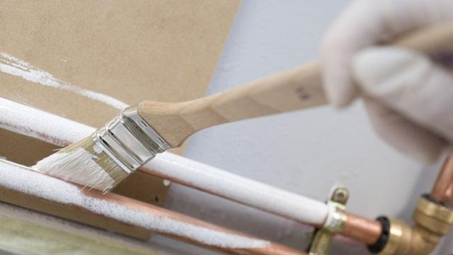 Краска для газовых труб: чем лучше покрасить газовую трубу в квартире и на улице