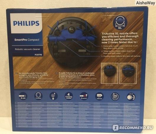Робот-пылесос philips fc8776: особенности, сравнение с конкурентами