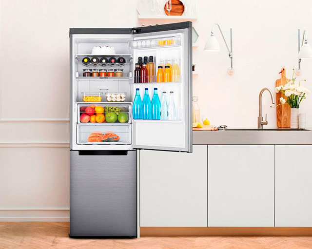 Двухдверный холодильник: лучшие модели + плюсы и минусы двухстворчатых моделей