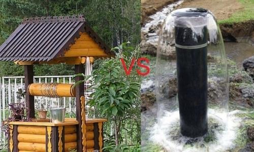Что лучше - скважина или колодец? Сравнительный обзор