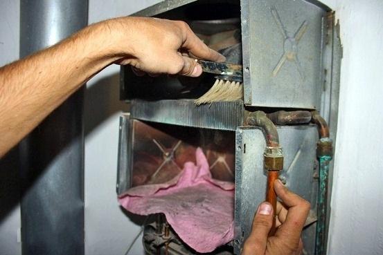 Как почистить газовую колонку