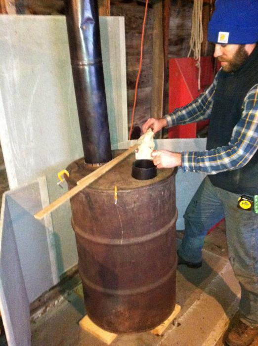 Печь для гаража своими руками: самодельные печки и схемы их изготовления