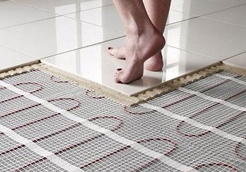 Электрический теплый пол под плитку: какой лучше - инфракрасный или кабельный