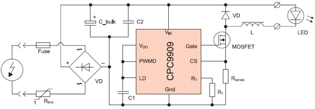 Какой бывает схема светодиодной лампы: устройство простейших драйверов