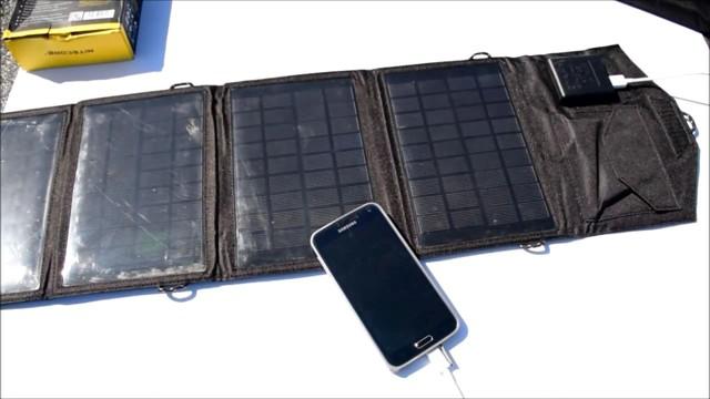 Как подобрать зарядное устройство на солнечных батареях