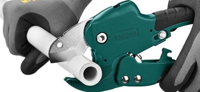 Ножницы для резки полипропиленовых труб: виды, какие лучше, как пользоваться правильно