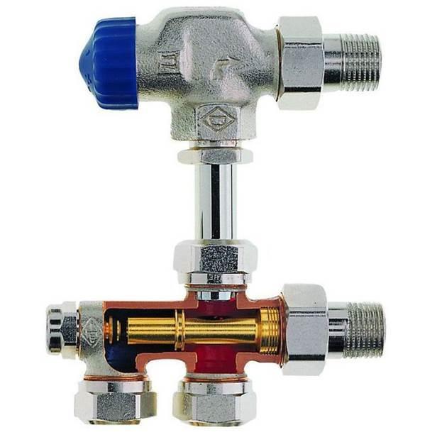 Термостатический клапан для радиатора отопления: назначение, принцип работы + установка