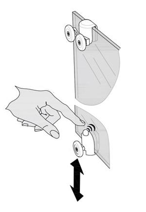 Ролики для душевых кабин: инструкции по монтажу и замене фурнитуры