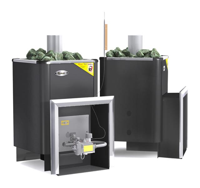 Газовый котел для сауны и бани: виды оборудования для организации газового отопления
