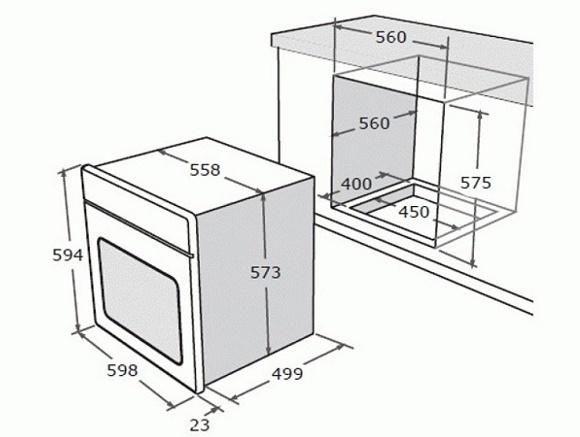 Как подключить встроенный газовый духовой шкаф: пошаговое руководство