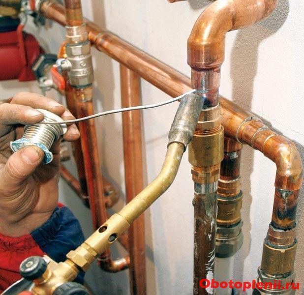 Какие трубы лучше для обвязки котлов отопления + советы по монтажу