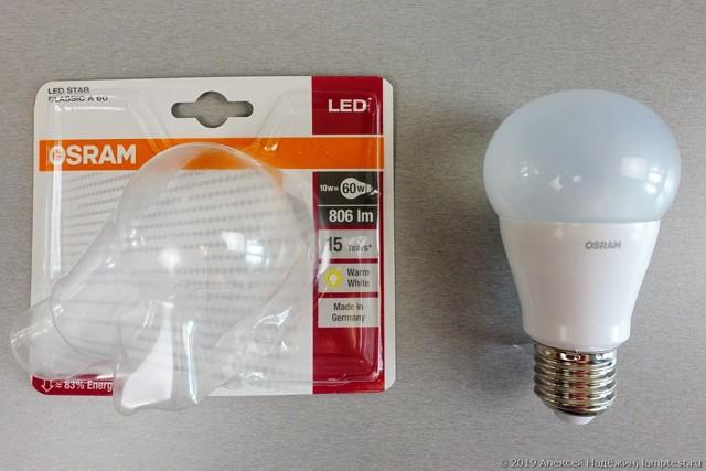 Светодиодные лампы osram: обзор преимуществ и недостатков