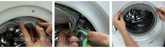 Манжета для стиральной машины: инструктаж по замене и ремонту