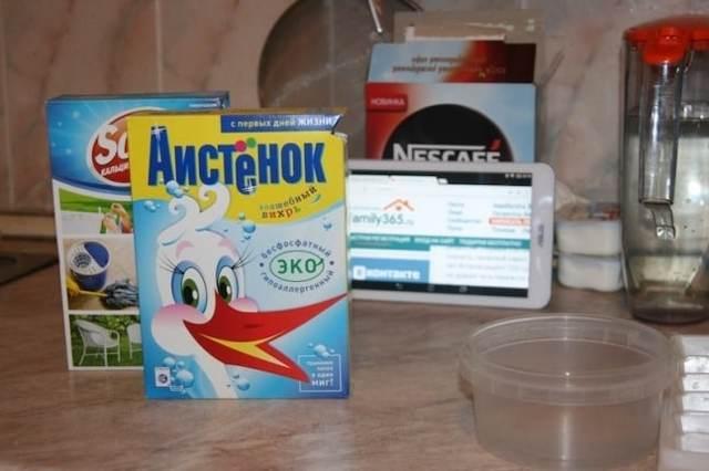Рецепты изготовления таблеток для посудомоек своими руками