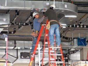 Монтаж воздуховодов: правила монтажа и схемы установки