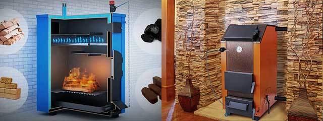 Отопление частного деревянного дома без газа: лучшие способы организации