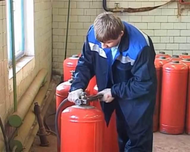 Устройство вентиля газового баллона и его замена на баллоне