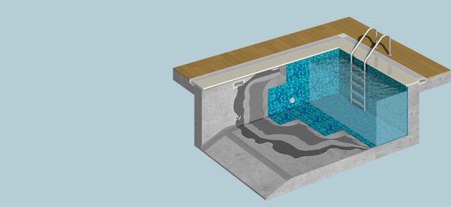 Гидроизоляция бассейна своими руками под плитку: технология работ
