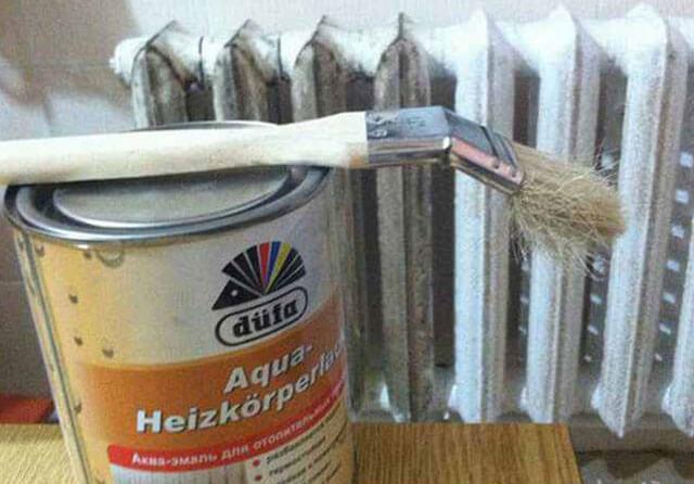 Как покрасить батарею отопления: красим все виды радиаторов