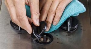 Как снять ручки с газовой плиты: устройство типовой ручки + что делать, если они не снимаются