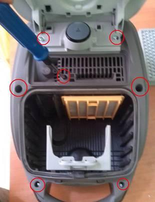 Как разобрать пылесос Самсунг: причины поломок + пошаговая инструкция по разбору пылесоса