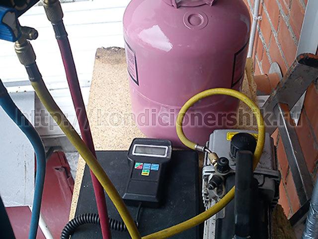 Заправка сплит системы: как самому правильно заправить оборудование фреоном