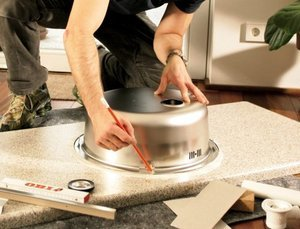 Установка накладной мойки: пошаговая инструкция по самостоятельному монтажу
