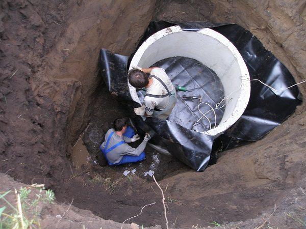 Гидроизоляция канализационных колодцев: средства и способы