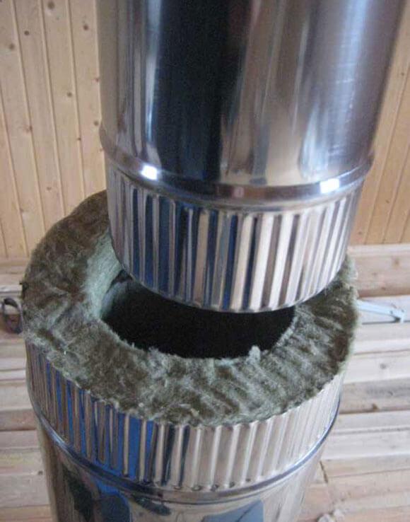 Сэндвич дымоход своими руками: установка и монтаж дымохода из сэндвич труб