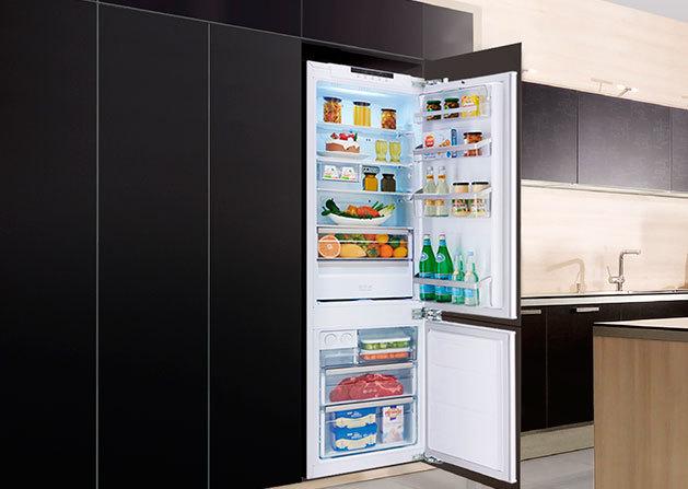 Двухдверный холодильник лучшие модели  плюсы и минусы двухстворчатых моделей
