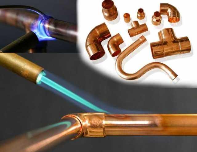 Соединение медных труб: обзор монтажных технологий