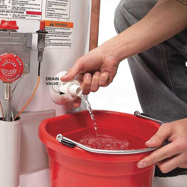 Как слить воду из водонагревателя: все способы слива воды