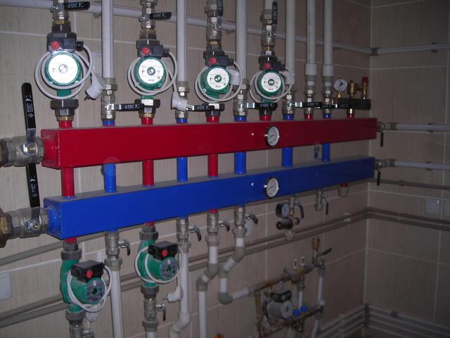 Распределительный коллектор отопления своими руками: схемы, нюансы сборки