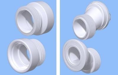 Манжета для унитаза: как подключить резиновый эксцентрик