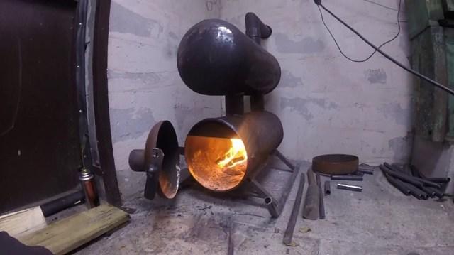 Газовая печь своими руками: как сделать эффективную самодельную печку на газу