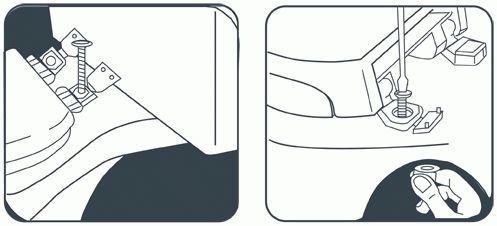 Крепление крышки унитаза: как снять сидение и установить новое