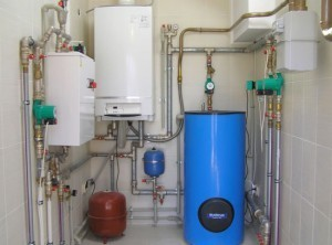 Установка настенного газового котла: монтаж своими руками