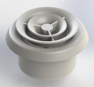Что такое вентиляционный анемостат: виды диффузоров и их особенности