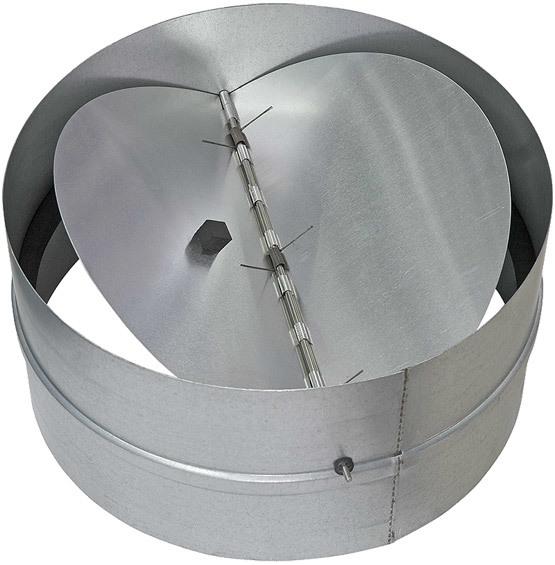 Вентиляционная решетка с обратным клапаном: виды, устройство, принцип работы + инструкции по монтажу
