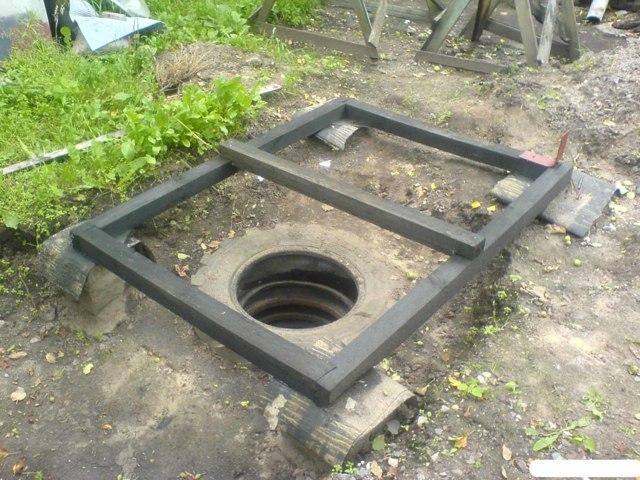 Выгребная яма из покрышек: схемы и технологии устройства