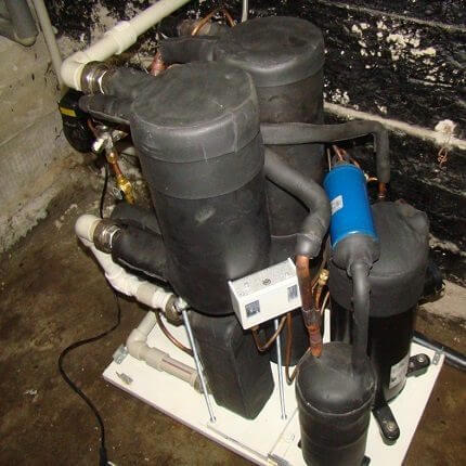 Тепловой насос воздух вода: схемы, устройство и сооружение своими руками